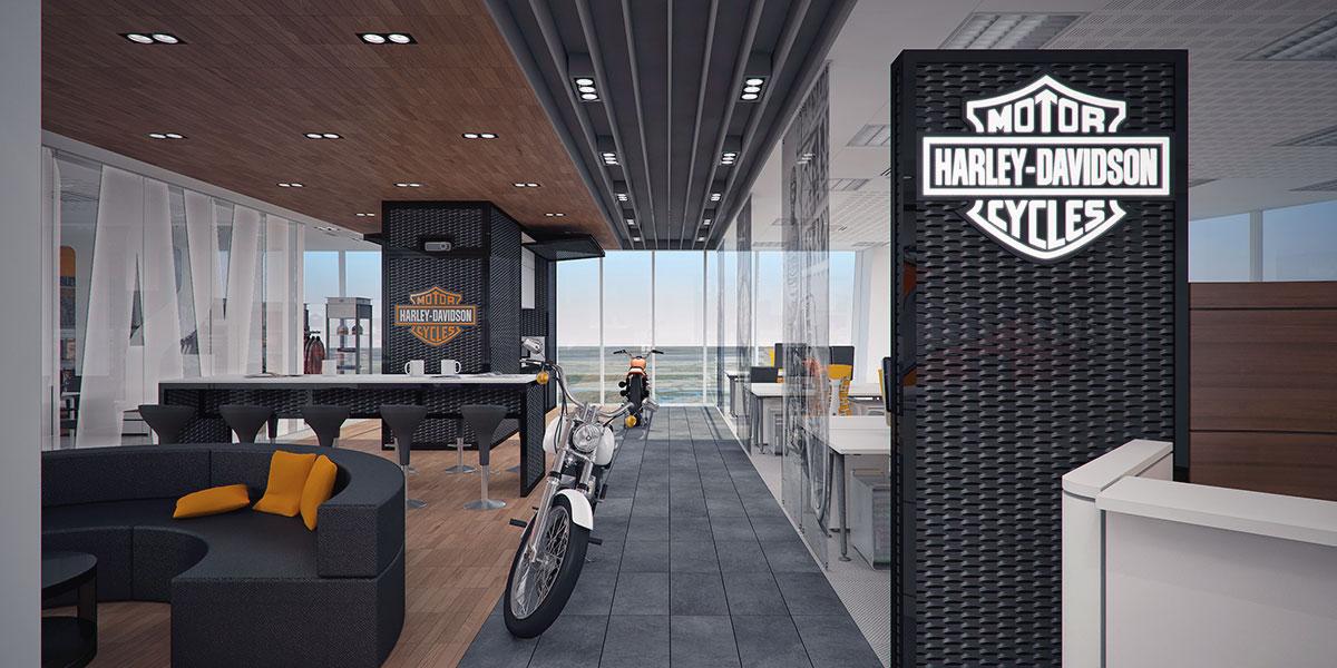 harley davidson garage decorating ideas - Attilio Guerreschi Architetto